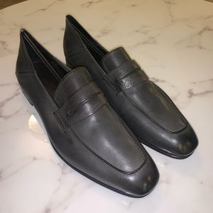 Ermenegildo Zegna Leather Moccasins